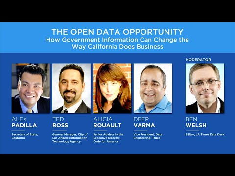The Open Data Opportunity: How Government Information Can Change the Way California Does Business