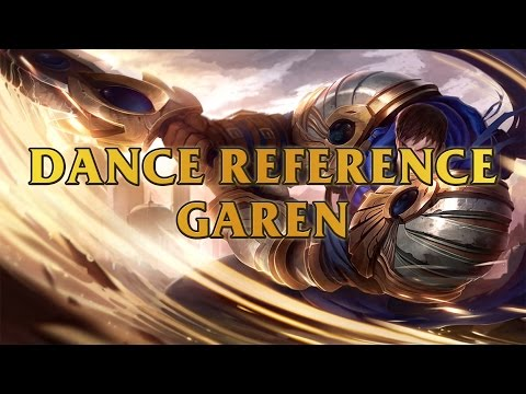 Garen Dance Reference - The Monkey From Johnny Bravo League Of Legends
