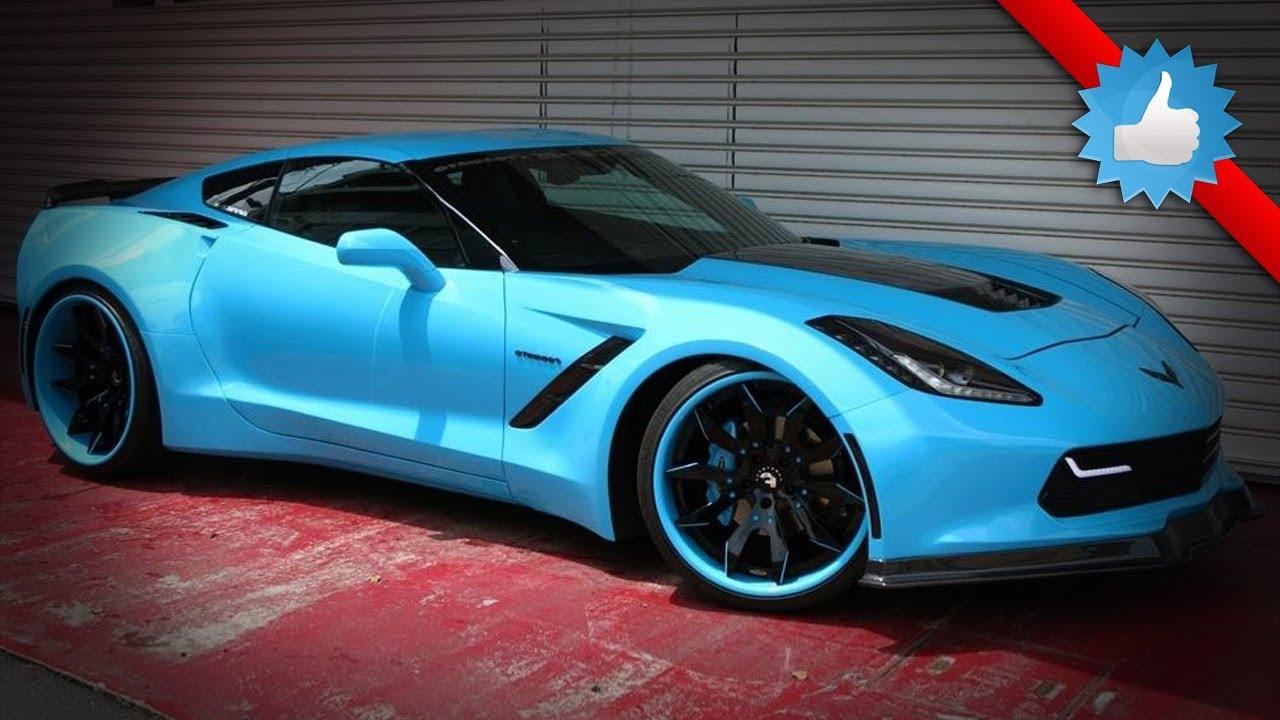 2014 forgiato corvette c7 stingray widebody by office k youtube - Corvette Stingray Light Blue