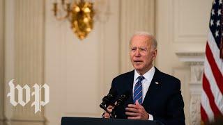 Biden sets new coronavirus vaccine goal for U.S. - 5/4 (FULL LIVE STREAM)