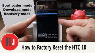 How to Factory Reset your HTC 10 in stock Android Recovery