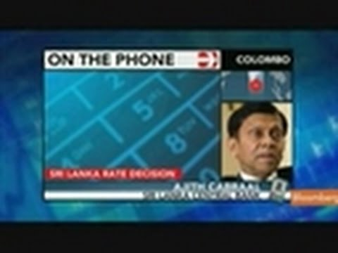 Sri Lanka's Cabraal Expects Inflation to `Moderate'