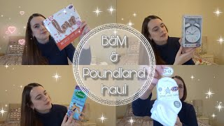 B&M & POUNDLAND HAUL | HOME, CLEANING, VALENTINES, KIDS | JANUARY 2019
