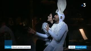 Heure espagnole à l'opéra de Lyon au JT France3