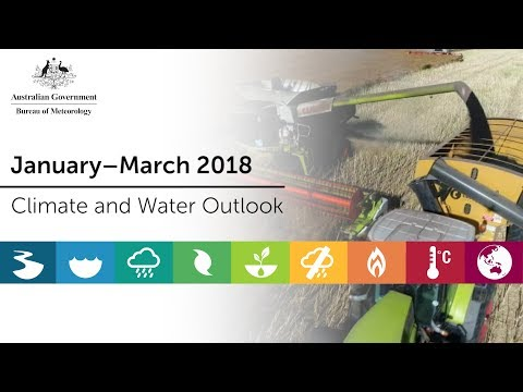 Climate and Water Outlook, January–March 2018
