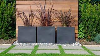 Gambar cover Modern Garden Design Examples - Planters As Accent