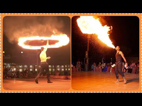 Fire Show / Dubai Desert Safari Part_2