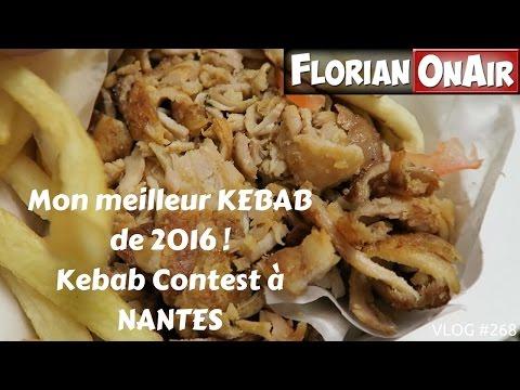 Mon meilleur KEBAB de 2016 (Nantes/Kebab Contest) - VLOG #268