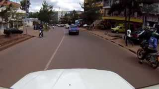Driving in Kigali, Rwanda