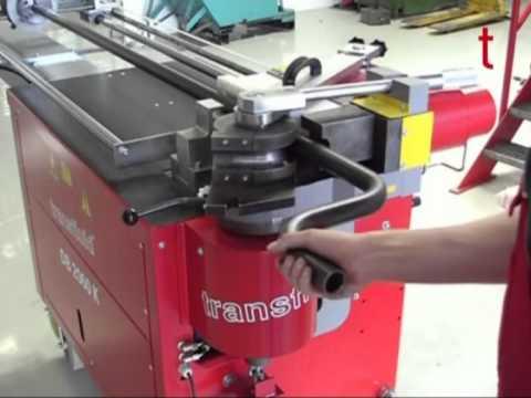 "Exhaust Tubing Bender >> Transfluid: DB 2060 K (3"" MAX OD) - YouTube"
