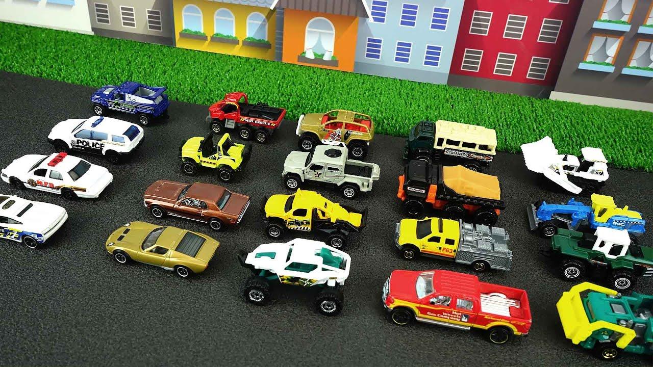 muchos coches diferentes para nios los juguetes youtube