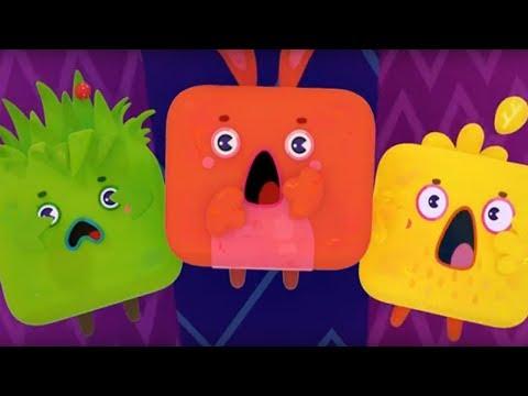 Четверо в кубе - Там, где водятся витамины - 3 серия - современные обучающие мультики для детей