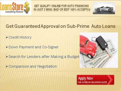 Subprime Auto Financing
