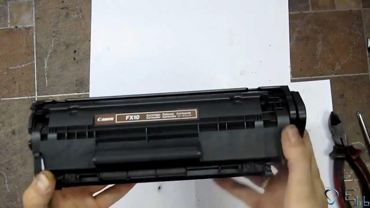 Инструкция заправки картриджа лазерного принтера