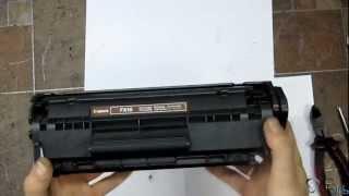 HP 1010. Инструкция по заправке.(Подробное видеоруководство по заправке картриджей для лазерных принтеров типа HP 1010., 2012-06-21T06:31:11.000Z)