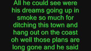 There Goes My Life  Lyrics- Kenny Chesney