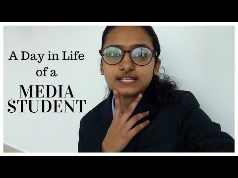 A Day In Life Of A Media Student In India | Journalism And Mass Communication Courses In India
