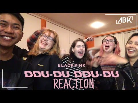 BLACKPINK - Ddu-Du Ddu-Du (뚜두뚜두) MV Reaction By ABK Crew From Australia