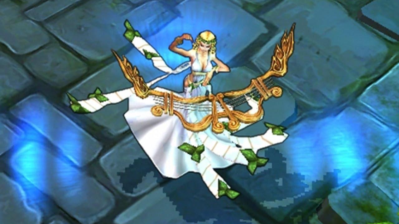 Skin Vorschau: Muse Sona League of Legends - YouTube