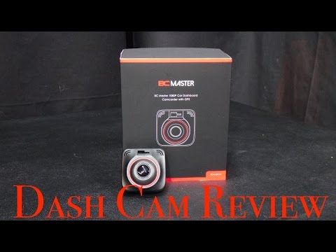 BC MASTER 1080P 170° DASH CAM Review Video
