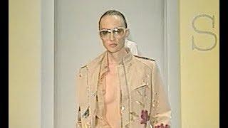 SPORTMAX Spring Summer 2001 Milan - Fashion Channel
