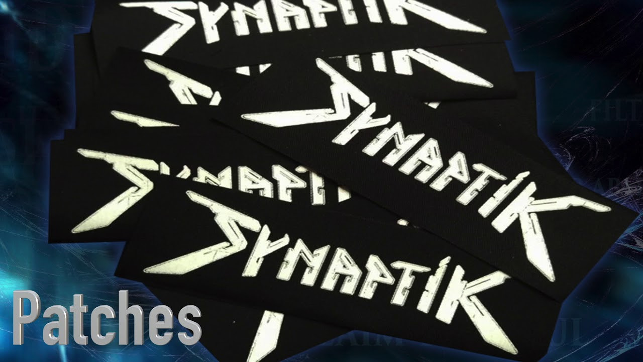 SYNAPTIK merchandise available CDs Shirts Vinyl