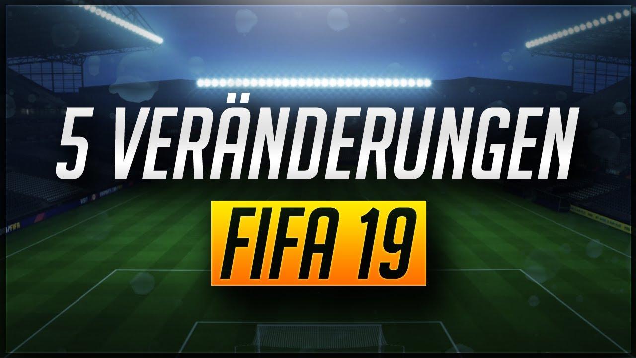 Fifa 19 änderungen