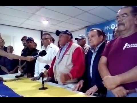 A huelga Gral. llama Iván Freites, Sind. Trabj. Petrolero y Gasífero. Avalan CTV, Codesa, CGT y UNT