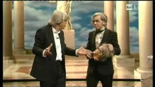 Scontro tra Morgan e Sgarbi - ...ci tocca anche Vittorio Sgabri - 18/05/2011