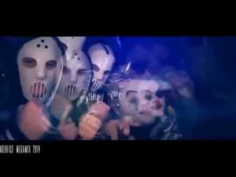 Angerfist & MC Nolz - The Deadfaced Dimension (Video Clip)