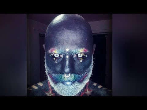 This Fully Tattooed Man Is Real Life White Walker