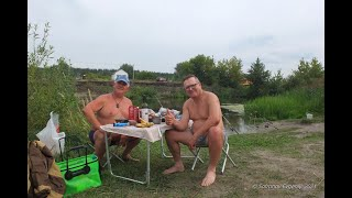 Рыбалка на реке Свияга 9 10 08 21 г