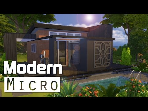 Full download die sims 4 let s build 6x6 bungalow for Modern house 6x6