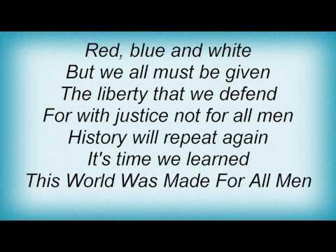 Stevie Wonder - Black Man Lyrics