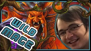 I HAD to try Spell Mage IN WILD | Rise of Shadows | Hearthstone