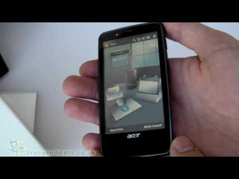 Acer Tempo F900 unboxing video