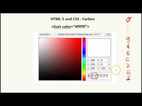 HTML- Farben