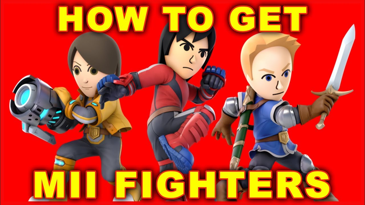 mii fighters smash ultimate