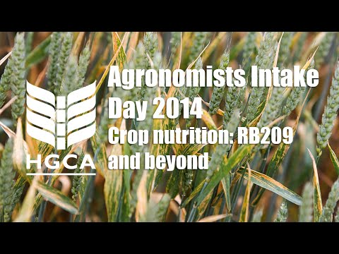 Crop nutrition: RB209 and beyond