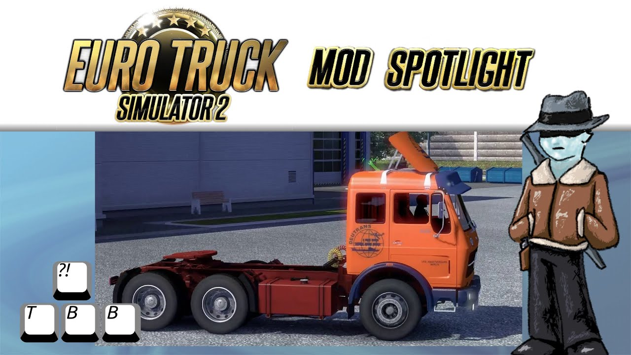d31576467b8 Euro Truck Simulator 2 Mod Spotlight - Mercedes Benz NG Deutrans by ...