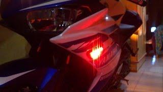 Cara Gampang Memasang Sein Tempel LED Yamaha R25