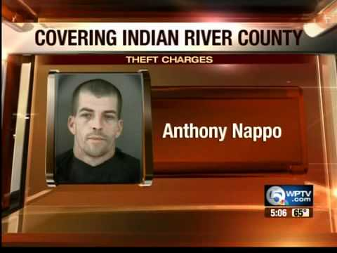 IRC man Anthony Nappo faces theft charges
