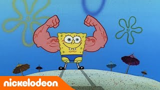 SpongeBob Schwammkopf | Goldene Momente | MuskelBob | Nickelodeon Deutschland