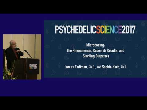James Fadiman & Sophia Korb: Microdosing - The Phenomenon, Research Results & Startling Surprises