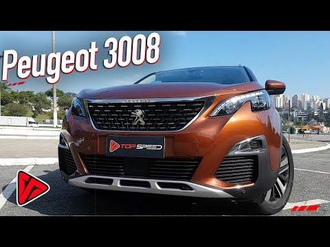 Avaliação Peugeot 3008 THP 2018  | Top Speed