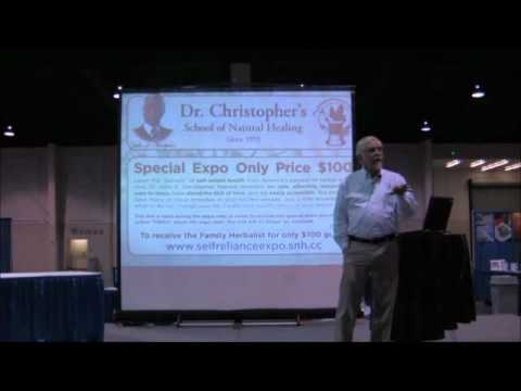 Self Reliance Expo Presentation: David Christopher - School of Natural Healing (SLC, UT 2010)
