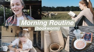 6am Bookworm Morning Routine (vlog-style)