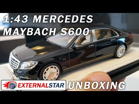 Mercedes-Maybach S-Class 1:43 Almost Real | Unboxing & Review