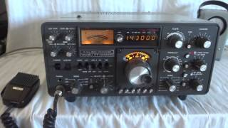Classic Yaesu FT-902DM Hf SSB ham radio transceiver all-mode
