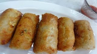 Cheese Bread Roll/Paneer Bread Roll | Eid Special  - Snack Recipe - How To Make Cheese Bread Roll